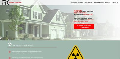 thumbnail screenshot of rcanradon.ca