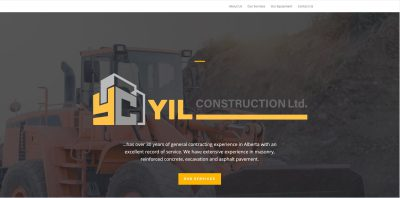 thumbnail screenshot of yilconstruction.ca