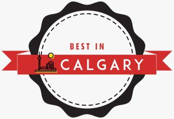 Badge from Best In Calgary Site